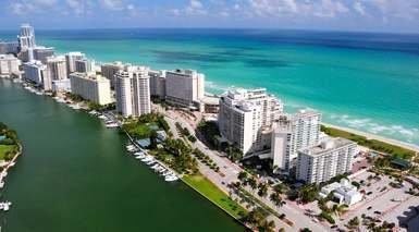 Miami con Visita + Paseo en Barco por la Bahía