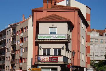 Exterior Apartamentos Vida Sanxenxo