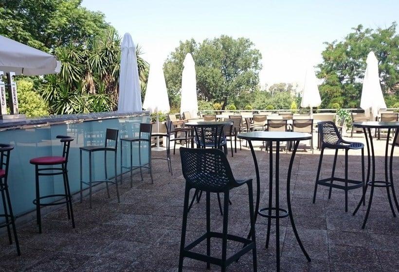 Aussenbereich Gran Hotel Zurbaran Badajoz