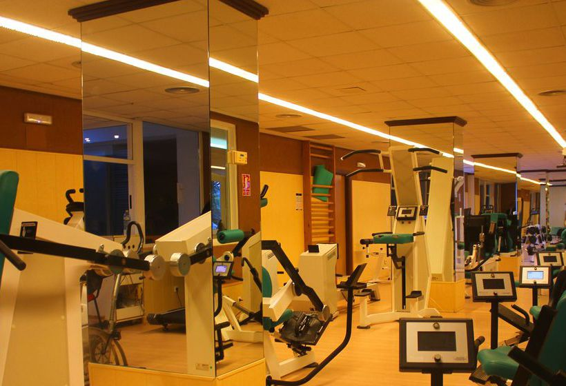 Sports facilities Hotel AR Roca Esmeralda & Spa Calpe