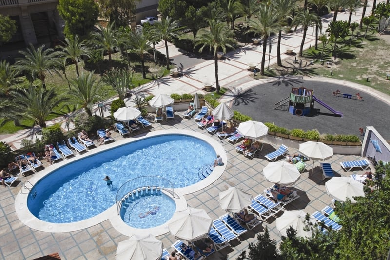 Swimming pool Hotel Prince Park Benidorm