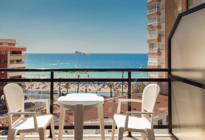 Terraza Hotel RH Corona del Mar Benidorm