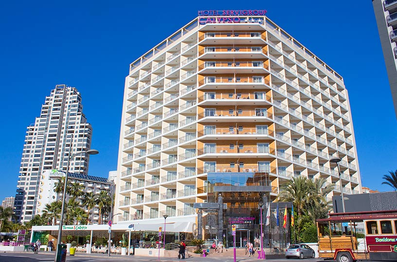 Outside Hotel Servigroup Calypso Benidorm