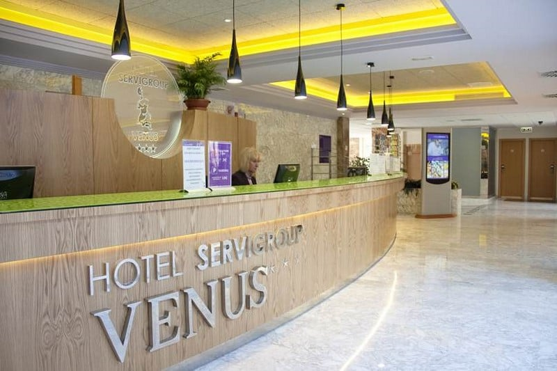Rezeption Hotel Servigroup Venus Benidorm