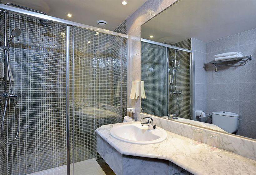 Salle de bain Hôtel Sol Pelícanos Ocas Benidorm