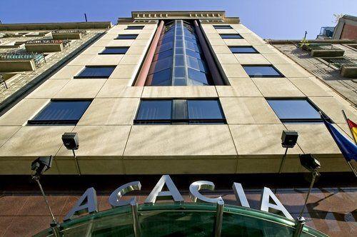 Aussenbereich Aparthotel Acacia Premium Suite Barcelona