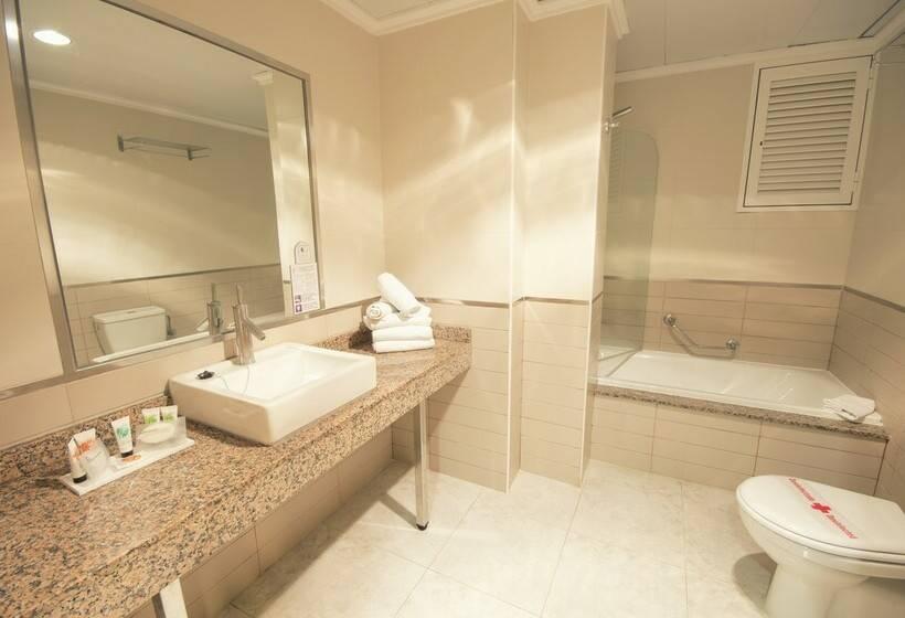Badezimmer AzuLine Hotel Atlantic Es Canar