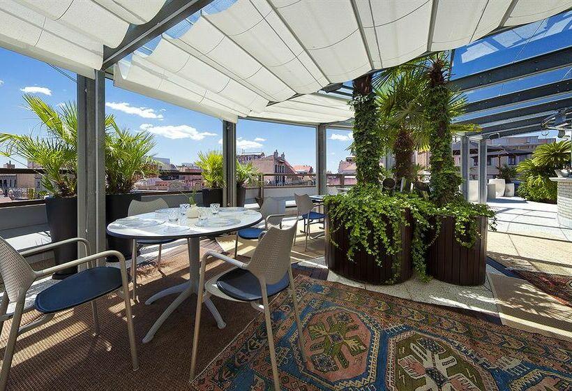 Terrace Claris Hotel Barcelona