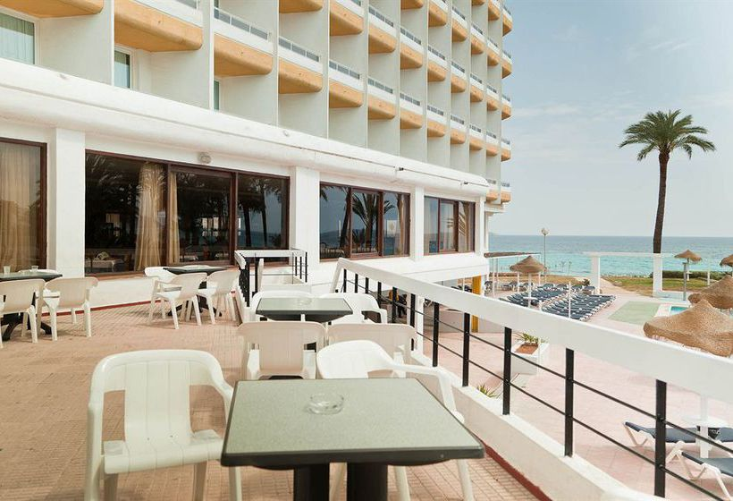 Aussenbereich Hotel The New Algarb Playa d'en Bossa
