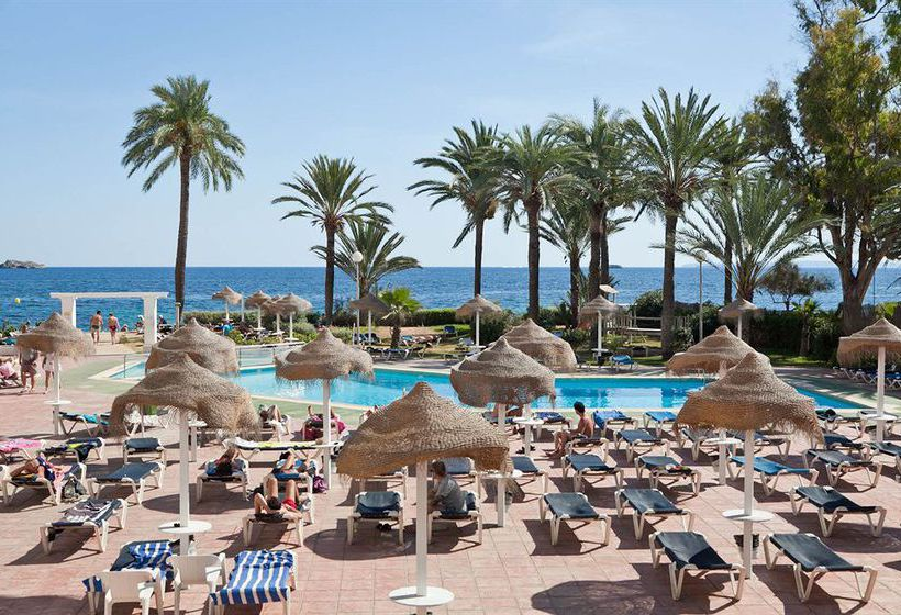 Schwimmbad Hotel The New Algarb Playa d'en Bossa