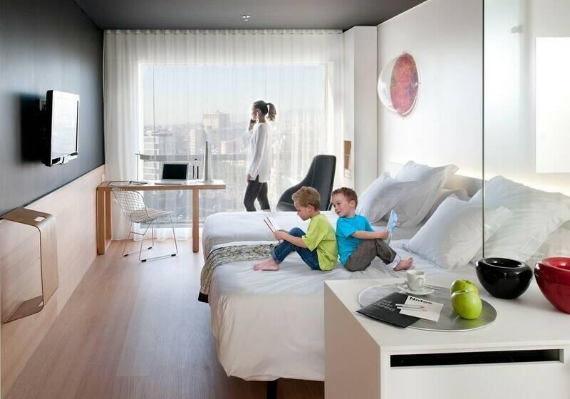 Habitación Hotel Barceló Sants Barcelona