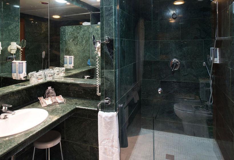 Salle de bain Hôtel Catalonia Park Putxet Barcelone