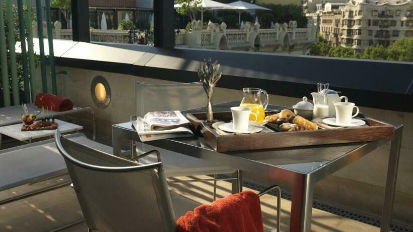 terraça Hotel Condes de Barcelona