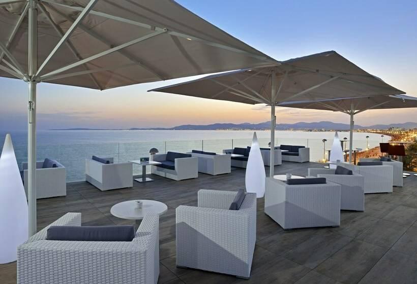 테라스 호텔 Hispania Platja de Palma
