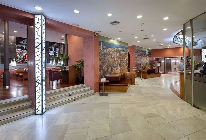 Zonas comunes Hotel Rialto Barcelona