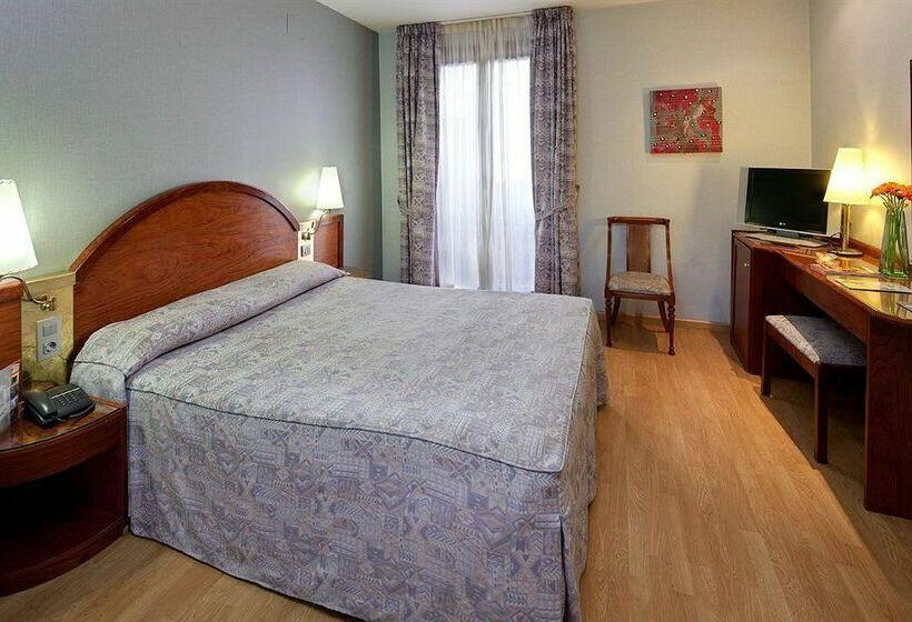Habitación Hotel Rialto Barcelona