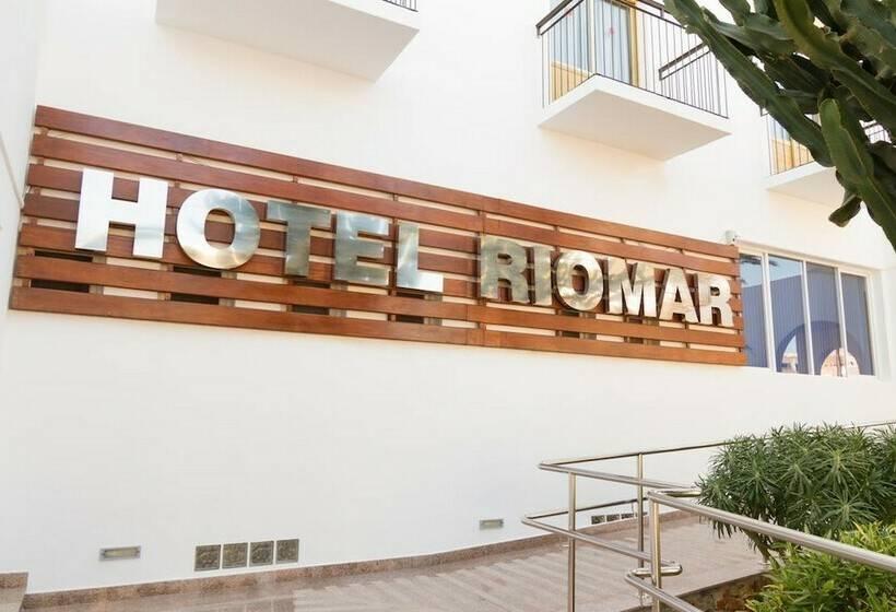 Outside Hotel Riomar Santa Eulalia del Rio
