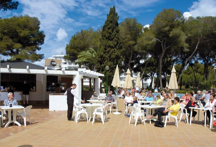 커피점 호텔 Riu Playa Park Platja de Palma