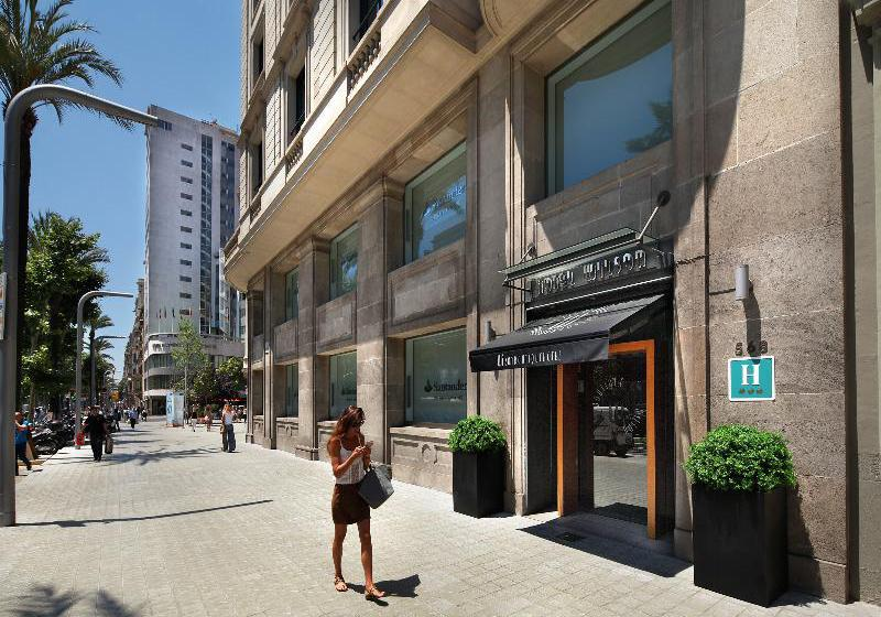 Wilson boutique hotel barcelone partir de 26 destinia for Boutique hotel barcelone