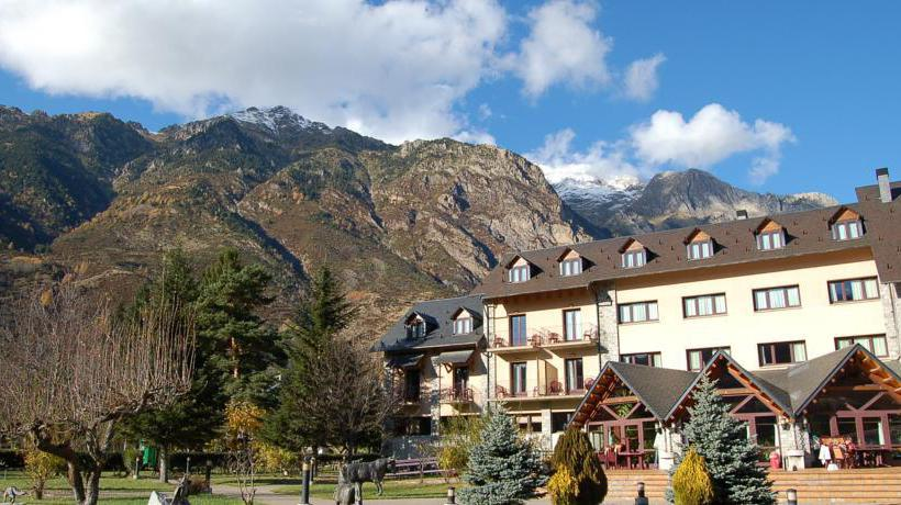 外部 Gran Hotel Benasque Spa