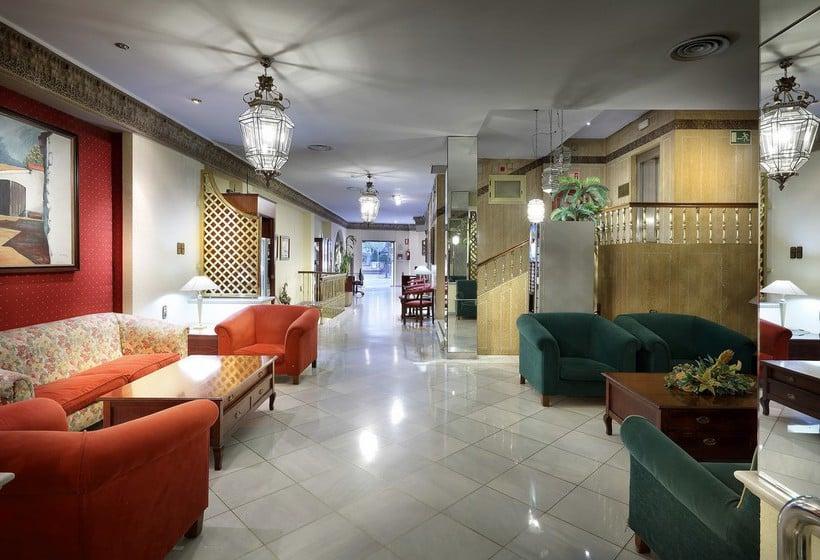 Zonas comuns Hotel Juan Miguel Granada