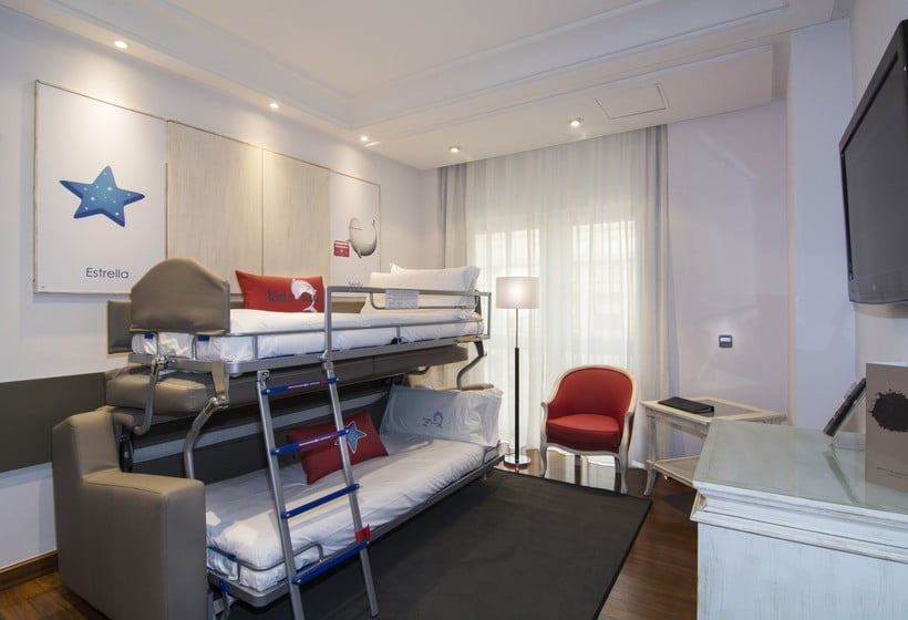 Quarto Hotel Meliá Maria Pita Corunha