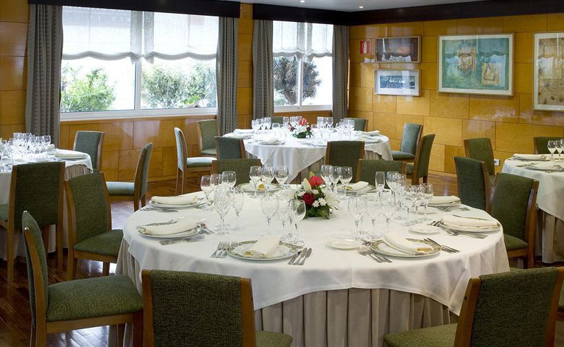 레스토랑 호텔 NH Atlántico 라코루냐
