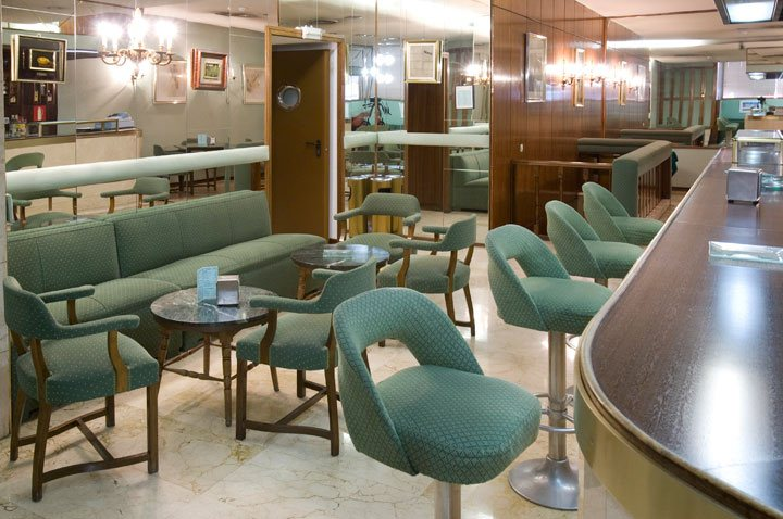 كافيتريا فندق Gran Atlanta مدريد