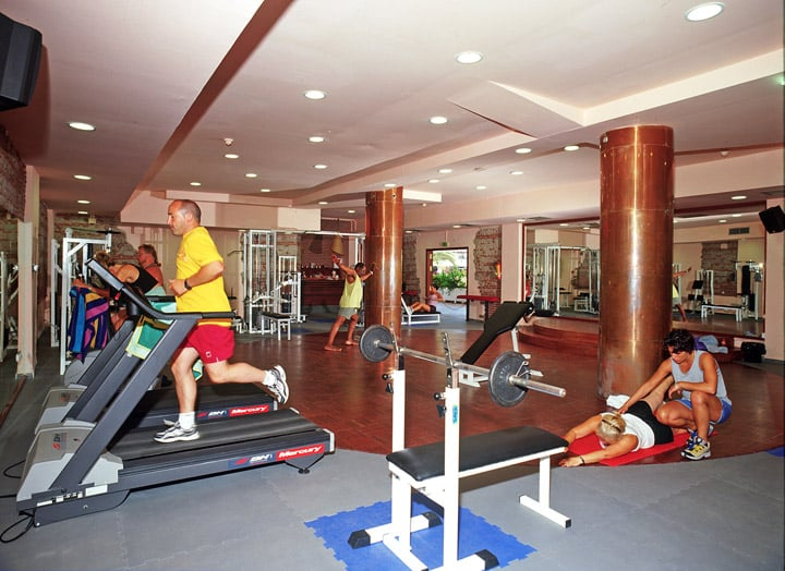 Sport center Hotel California Garden Salou