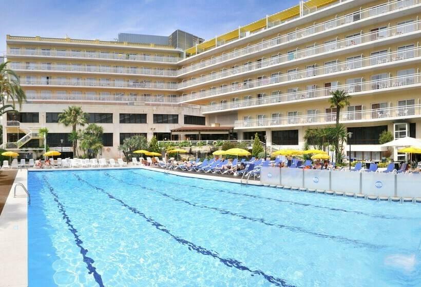 Hotel ght oasis park spa em lloret de mar desde 19 for Piscinas actur