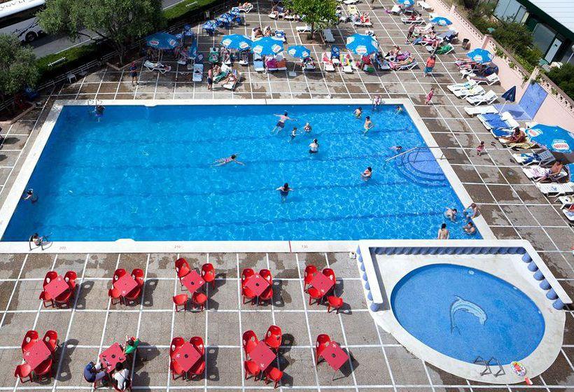 Zwembad Hotel H Top Molinos Park Salou
