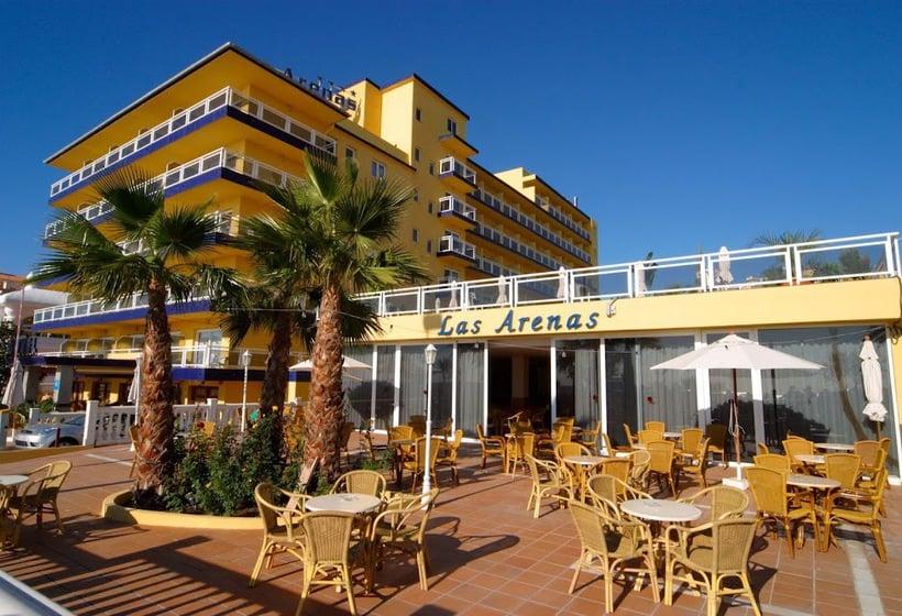 外部 ホテル Las Arenas ベナルマデナ