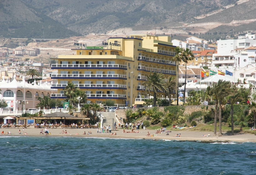 Outside Hotel Las Arenas Benalmadena