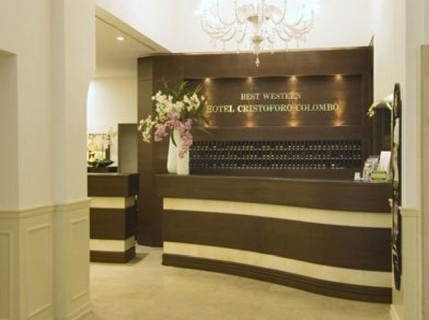 Reception Hotel Cristoforo Colombo Milano