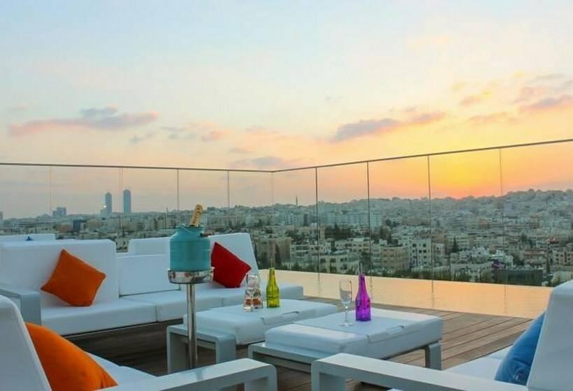 terraça Hotel Regency Palace Amman Amã