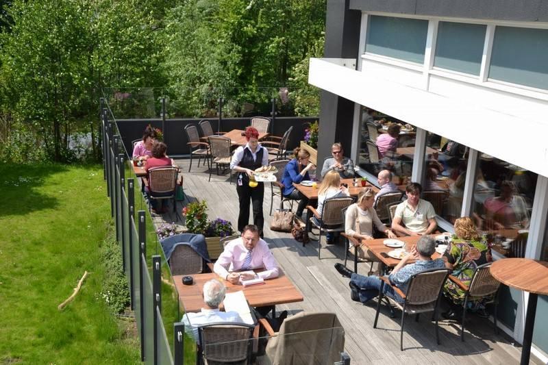 Terrasse Hotel Best Western Plus Airport Rotterdam