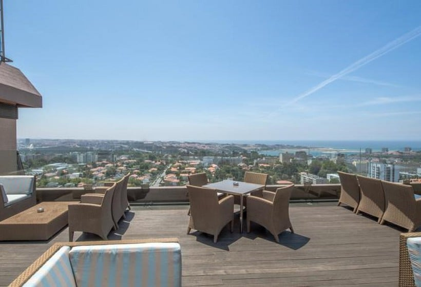 테라스 Porto Palacio Congress Hotel & Spa 포르투