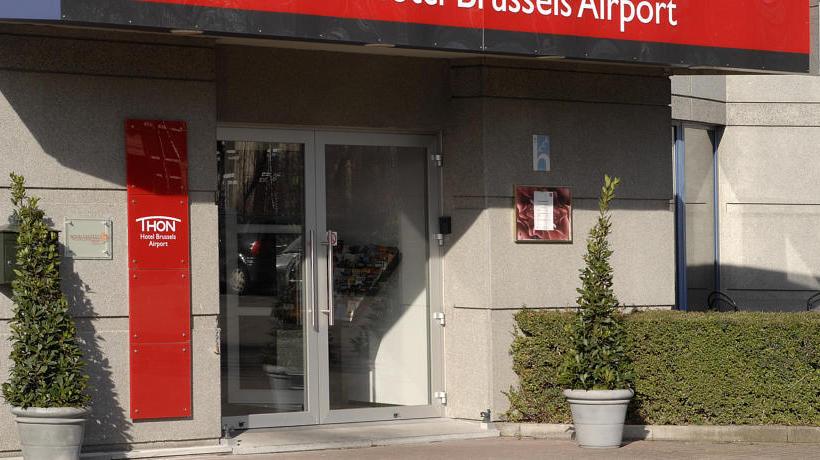 Aussenbereich Hotel Thon Brussels Airport Diegem