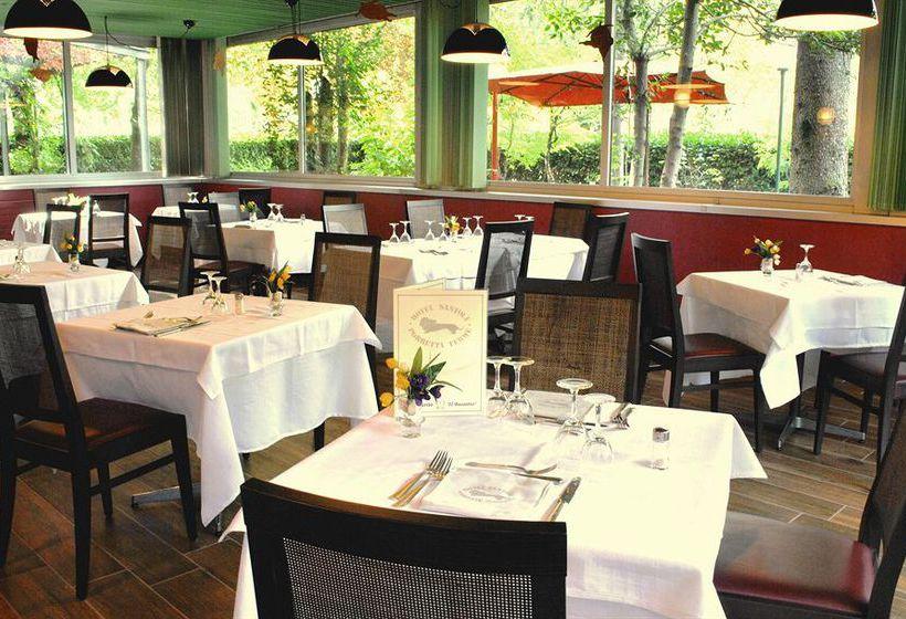 مطعم فندق Santoli Porretta Terme