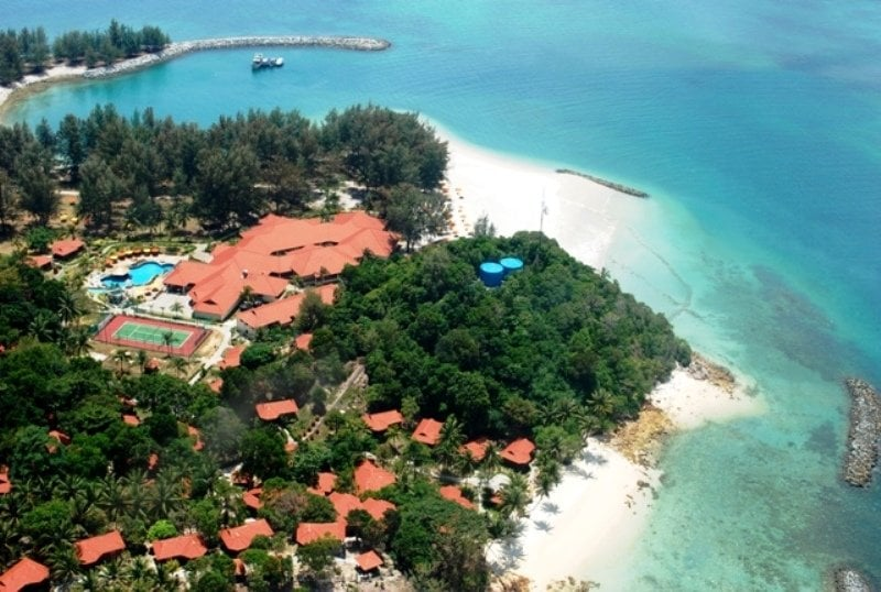 Sibu Island Resort كوتا تينجي