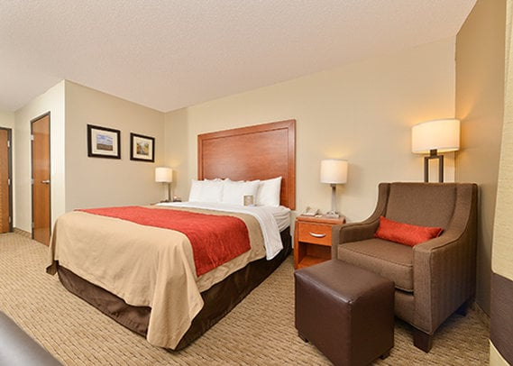 호텔 Comfort Inn Valentine