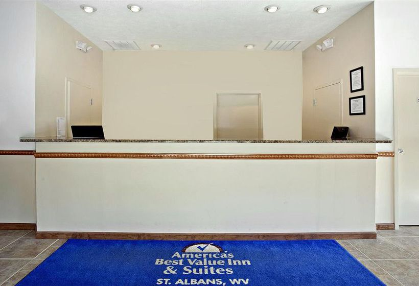 فندق Americas Best Value Inn St. Albans Saint Albans