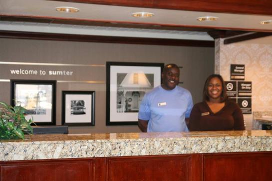 호텔 Hampton Inn Sumter