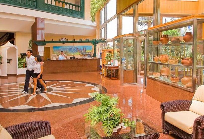 Reception Diverhotel Tenerife Spa & Garden Porto da Cruz