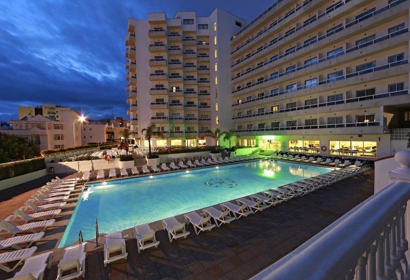 Hotel marconfort griego em torremolinos desde 15 destinia for Piscina torremolinos