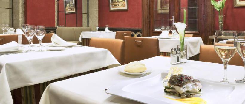 레스토랑 호텔 NH Palacio de Vigo 비고