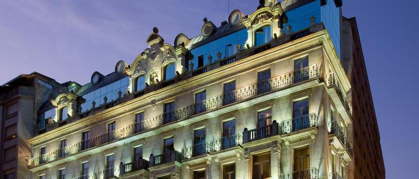 外部 ホテル NH Palacio de Vigo ビーゴ