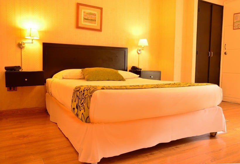 Quarto Hotel Basadre Suites Lima