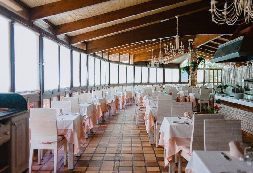 مطعم فندق Parque Tropical بلايا ديل إنجليس