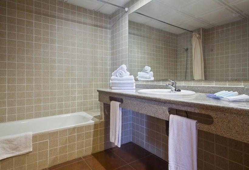 Bathroom Apartamentos Best Pueblo Indalo Mojácar